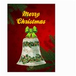 Red Christmas Garden Flag Large two sides - Large Garden Flag (Two Sides)