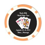 Poker Chip_Card Hold_Brads 40th - Poker Chip Card Guard (10 pack)