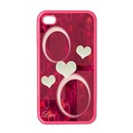 Love Pink Apple iPhone 4 case  - Apple iPhone 4 Case (Color)