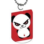 Evil Panda Dog Tag - Dog Tag (One Side)