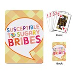 Sugar Bribes Cards - Playing Cards Single Design