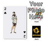Poker Metal Gear Solid - Playing Cards 54 Designs
