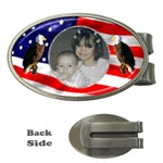 Patriotic money clip - Money Clip (Oval)
