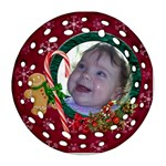 SimplyChristmas Vol1 -Round Filigree (2sides)  - Round Filigree Ornament (Two Sides)