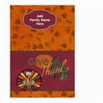 Give Thanks Garden Flag - Large Garden Flag (Two Sides)