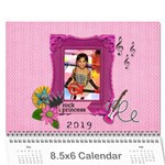 Wall Calendar (8.5 x 6)- My Rock Princess - Wall Calendar 8.5  x 6