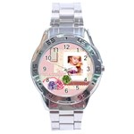 pink idea - Stainless Steel Analogue Watch