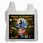 WITCHCRAFT Halloween Trick Or Treat Recycle Bag - Recycle Bag (One Side)