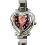 tony9999 - Heart Italian Charm Watch