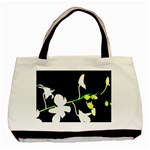 white orchids - Basic Tote Bag