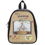 Off to Grandmas Overnight Bag (School bag small) - School Bag (Small)