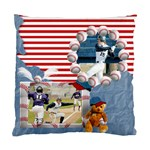 Baseball Cushion Case (one side) -1 - Standard Cushion Case (One Side)