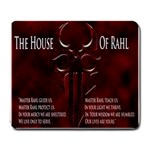 The House Of Rahl - Large Mousepad