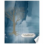 Melissa Guest Book Canvas Est 2012 - Canvas 16  x 20