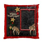 Winter Wonderland Single Sided Pillow Case - Standard Cushion Case (One Side)