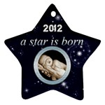 A Star is born 2012 Star Ornament - Ornament (Star)