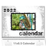 Faded Glory Monochrome 2019 Calendar - Wall Calendar 11  x 8.5  (12-Months)