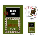 Christmas Clusters Playing Cards 3 - Playing Cards Single Design (Rectangle)