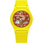 Love U Dad Plastic Sport Watch Small - Round Plastic Sport Watch (S)
