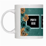 Autumn s Whisper Mug - White Mug