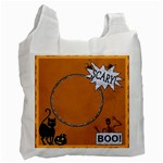Boo Halloween Recycle Bag - Recycle Bag (One Side)