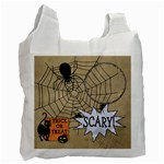 Trick or Treat Candy Recycle Bag - Recycle Bag (One Side)