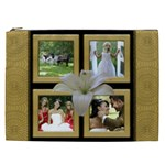 Our Wedding Anniversary Cosmetic Bag XXL - Cosmetic Bag (XXL)