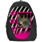 Wild pink and black - Backpack Bag