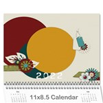 2019 Everyday Calendar - Wall Calendar 11  x 8.5  (12-Months)