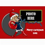 Rockin  Around the Christmas Tree 5x7 Card 3 - 5  x 7  Photo Cards