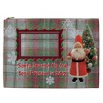 Santa Brought Us the Best Present in 2012 Gift Bag XXL - Cosmetic Bag (XXL)