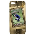 Timber Apple iPhone 5 Hardshell Case