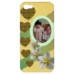 Hearts and Flowers Apple iPhone 5 Hardshell Case