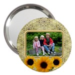 Sunflower 3  Handbag Mirror