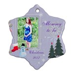 Katie Mommy to be - Ornament (Snowflake)