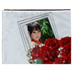 Framed with Roses Cosmetic Bag (XXXL)