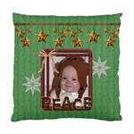 Peace/Noel Cushiion Case (2 Sided) - Standard Cushion Case (Two Sides)