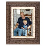 liam and grampa puzzle - Jigsaw Puzzle (Rectangular)