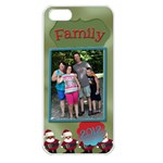 Christmas Family Case  - Apple iPhone 5 Seamless Case (White)
