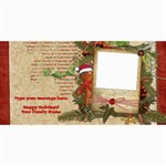 Christmas Gingerbread Photo Card - 4  x 8  Photo Cards