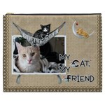 Cat XXXL Cosmetic Bag - Cosmetic Bag (XXXL)