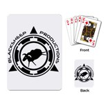 BSP logo playing cards - Playing Cards Single Design