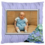 Lilac Delight Large Cushion Case (2 sided) - Large Cushion Case (Two Sides)