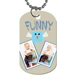 funny - Dog Tag (Two Sides)