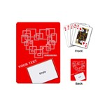 MiniCartas - Corazón - Playing Cards (Mini)