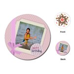 kids - Playing Cards Single Design (Round)