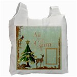 All is Calm Recycle Bag - Recycle Bag (One Side)