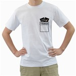 Camiseta - Descartes - Men s T-Shirt (White) (Two Sided)