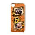 Autumn Delights - Apple iPhone4 (White) - Apple iPhone 4 Case (White)