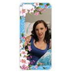 Pink Floral Apple iPhone 5 Seamless Case (White)